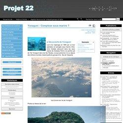 Yonaguni: Complexe sous marins?