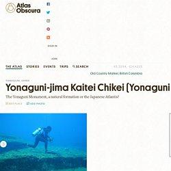 Yonaguni-jima Kaitei Chikei (Yonaguni Monument) – Yonaguni, Japan - Atlas Obscura