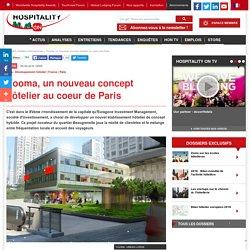 Yooma, un nouveau concept hôtelier au coeur de Paris