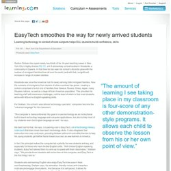 PS 151 New York City uses EasyTech with ELL students
