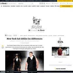 New York fait défiler les différences