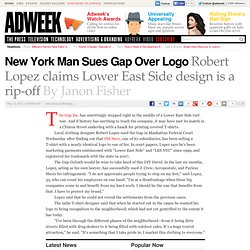 New York Man Sues Gap Over Lower East Side Logo