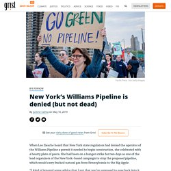 New York's Williams Pipeline is denied (but not dead)