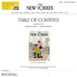Articles from current and past issues of The New Yorker