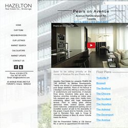 Yorkville Real Estate Specialists - Pears On Avenue - Hazelton Real Estate