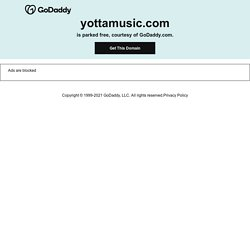 Welcome to Yottamusic