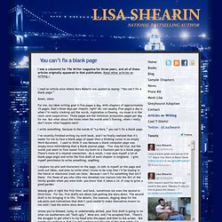 Lisa Shearin Group Series: Du kan ikke lave en tom side