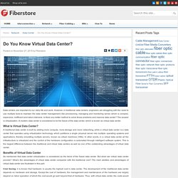Do You Know Virtual Data Center?