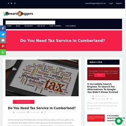 Do You Need Tax Service in Cumberland?