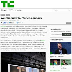 YouChannel: YouTube Leanback