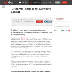 'Brummie' is the least attractive accent
