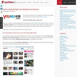 Youku mode d'emploi du Youtube à la chinoise