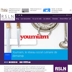 Youmiam, le réseau social culinaire de demain