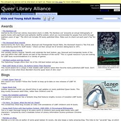 Kids and Young Adult Books - Queer Library Alliance