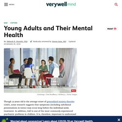 Young Adults and Their Mental Health