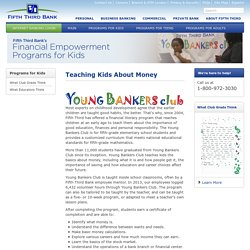 Young Bankers Club - Teaching Kids About Money