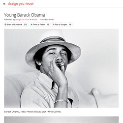 Young Barack Obama | Design You Trust