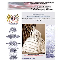 Young and Brave: Girls Changing History