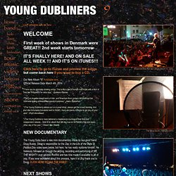 :: Young Dubliners :: Celtic Rock and Roll ::