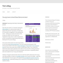 Young Lives Linked Data Demonstrator : Tim's Blog