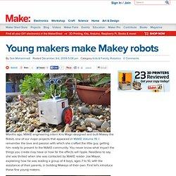 Young makers make Makey robots
