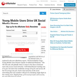 Young Mobile Users Drive UK Social Media Usage - eMarketer