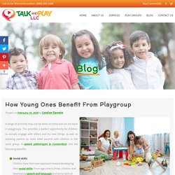 How Young Ones Benefit From Playgroup