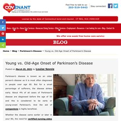 Young vs. Old-Age Onset of Parkinson's Disease