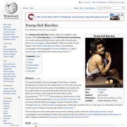 Young Sick Bacchus - Wikipedia