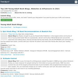 Top 100 Young Adult Book Blogs and Websites in 2019