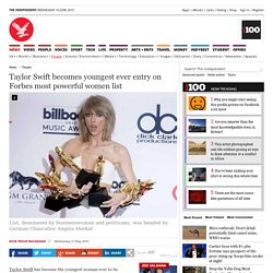 Taylor Swift becomes youngest ever entry on Forbes most powerful women list - People - News - The Independent