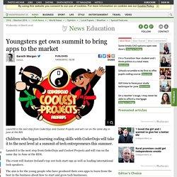 Youngsters get own summit to bring apps to the market