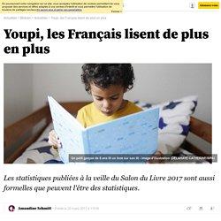 Youpi, les Français lisent de plus en plus