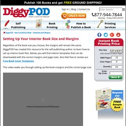 How to Set-up Your Book Size and Margins