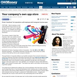 Your company's own app store
