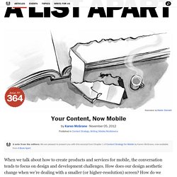 Your Content, Now Mobile