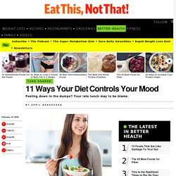 How Your Diet Controls Your Mood