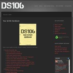 Your ds106 Handbook