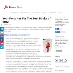 Your Favorites For The Best Books of 2012
