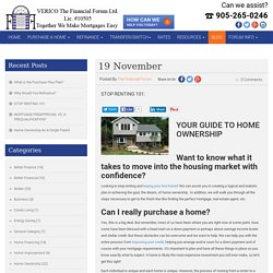 Buy Your First Home - Your Guide To Home Ownership