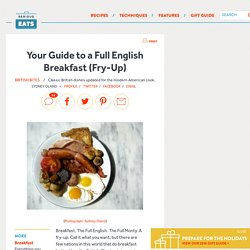Your Guide to a Full English Breakfast (Fry-Up)