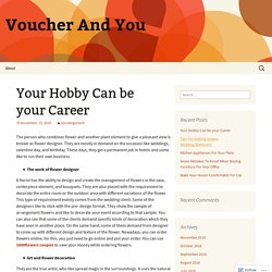Your Hobby Can be your Career