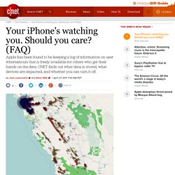 Your iPhone's watching you. Should you care? (FAQ) | Apple