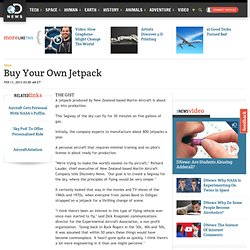 Buy Your Own Jetpack
