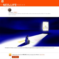 How Your Phone Can Keep You from Getting Depressed – NEO.LIFE