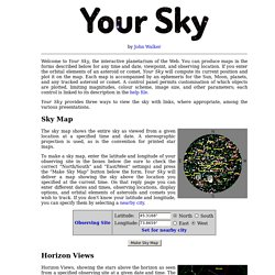 Your Sky, interactive planetarium
