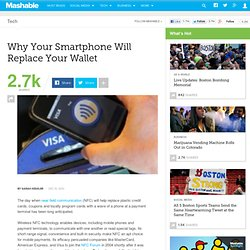 Mobiles Replace Wallets (NFC)