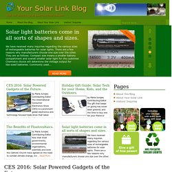 Your Solar Link Blog