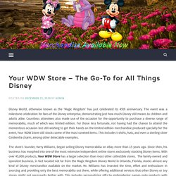 Your WDW Store - The Go-To for All Things Disney