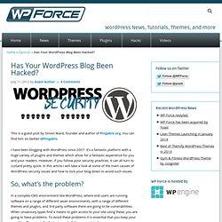 Has Your WordPress Blog Been Hacked?
